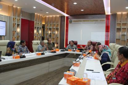 Rapat Persiapan Launching Sumut Smart Province